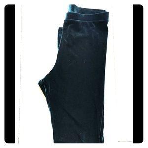"""""""Crushed velvet"""" leggings/tights"""